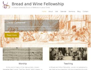 breadwine.org screenshot