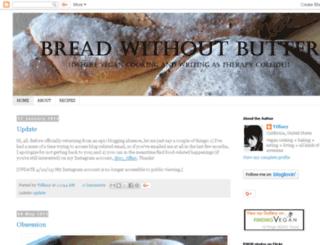 breadwithoutbutter.blogspot.com screenshot
