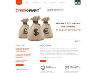 break-even.it screenshot