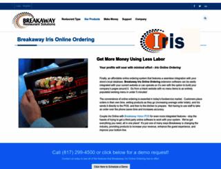 breakawayiris.com screenshot