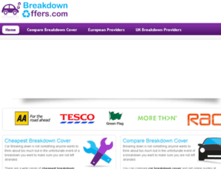 breakdownoffers.com screenshot