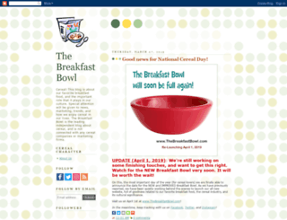 breakfastbowl.blogspot.com screenshot