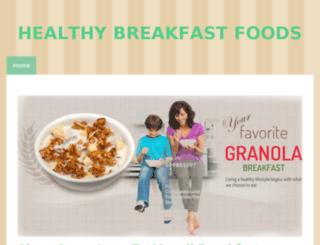 breakfastguide.jimdo.com screenshot