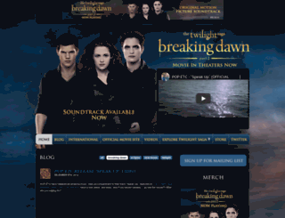 breakingdawnthesoundtrack.com screenshot
