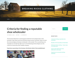 breakingrocksclothing.com screenshot