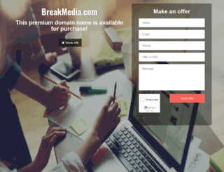 breakmedia.com screenshot
