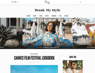 breakmystyle.com screenshot