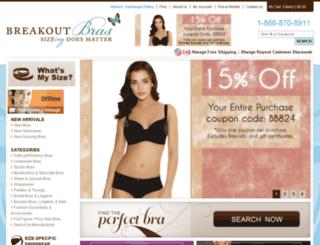 breakoutbra.commercev3.com screenshot