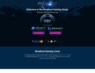 breakoutgaming.com screenshot