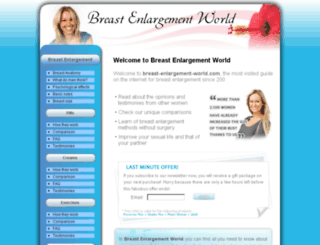 breast-enlargement-world.com screenshot