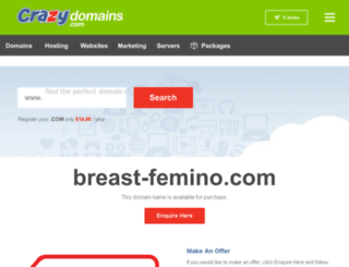 breast-femino.com screenshot