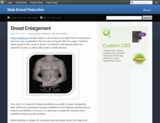 breastenlargement.blog.com screenshot
