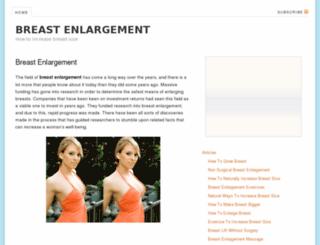 breastenlargementsite.org screenshot