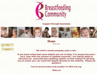 breastfeedingcommunity.co.uk screenshot