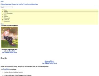 breastpumpmama.com screenshot