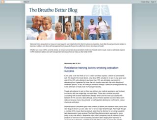 breathebetterblog.blogspot.com screenshot