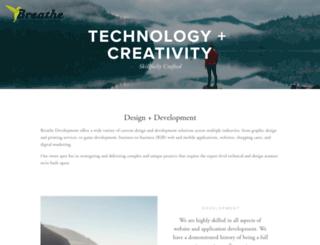 breathedevelopment.com screenshot