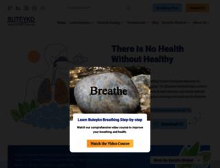 breathingcenter.com screenshot