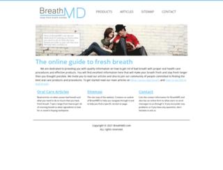 breathmd.com screenshot