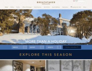 breathtaker.com.au screenshot
