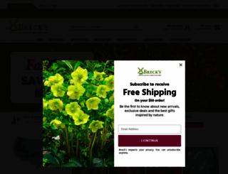 brecks.com screenshot