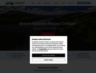 breconcottages.com screenshot