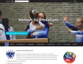bredagym.nl screenshot