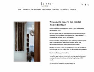 breezebeauty.com.au screenshot