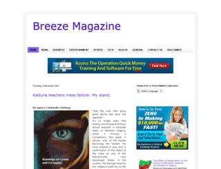 breezemagazine.blogspot.com screenshot