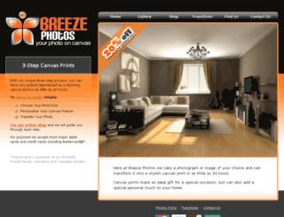 breezephotos.com.au screenshot