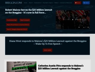 breggin.com screenshot