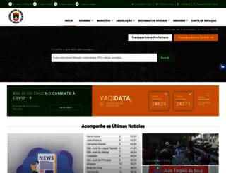 brejodocruz.pb.gov.br screenshot