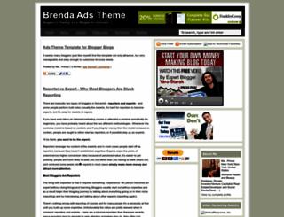 brendaadstheme.blogspot.com.es screenshot