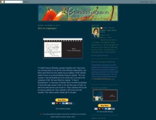 brendaferguson.blogspot.com screenshot