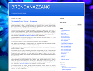 brendanazzano.com screenshot