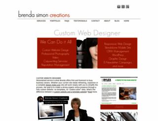 brendasimon.com screenshot