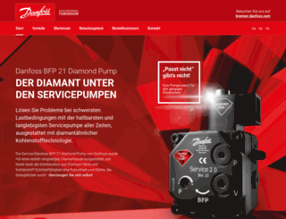 brenner.danfoss.com screenshot