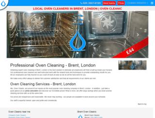 brent.ovencleanic.co.uk screenshot
