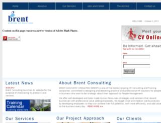 brentconsulting.com screenshot