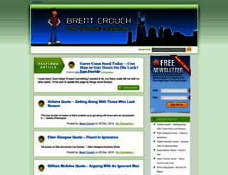 brentcrouch.com screenshot