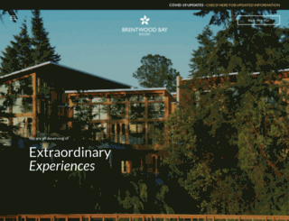 brentwoodbayresort.com screenshot