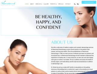 brentwooddermatology.com screenshot