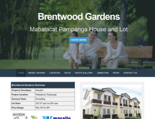 brentwoodvillagepampanga.com screenshot