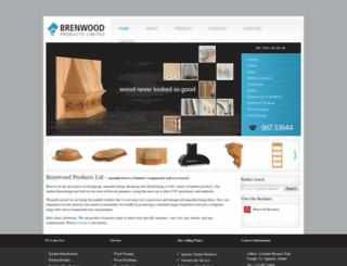 brenwoodproducts.com screenshot