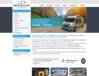 bresciaclimaservice.it screenshot