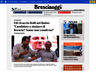 bresciaoggi.it screenshot