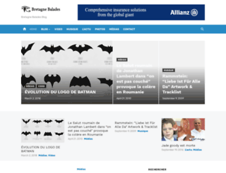 bretagne-balades.org screenshot