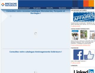 bretagne-materiaux.fr screenshot