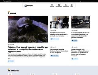 bretagne.france3.fr screenshot
