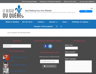 brettkurtis.quebecblogue.com screenshot